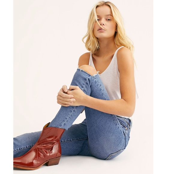 4fc9cd5a4f9 Free People New Frontier Western Boot NWT